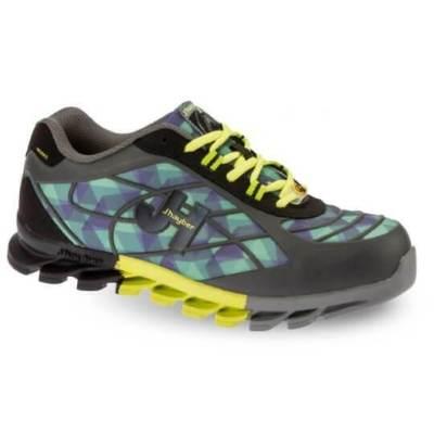 Zapato de trabajo bolt grafito/lima